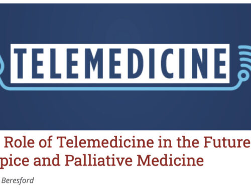 The Role of Telemedicine in the Future of Hospice and Palliative Medicine